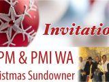 Sundowner Party Invite Aipm & Pmi Christmas Sundowner Invitation 10 Dec 2014