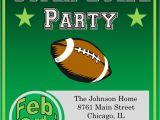 Super Bowl Party Invite Super Bowl Party Invitations 2018 Football