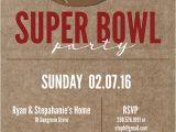 Super Bowl Party Invite Super Bowl Printable and Invitation Free Printable