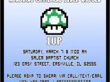 Super Mario Baby Shower Invitations Items Similar to Super Mario Baby Shower Invitation