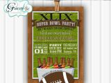 Superbowl Party Invitations Chandeliers Pendant Lights