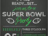 Superbowl Party Invitations Sale Super Bowl Party Invitation