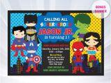 Superhero Party Invitation Template Superhero Invitation Superhero Invitation Templates