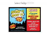 Superhero themed Baby Shower Invitations Diy Superhero Baby Shower Invitation by Lauren Haddox