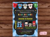 Superhero themed Baby Shower Invitations Superhero Baby Shower Invitation Super Baby Shower