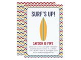 Surf S Up Birthday Party Invitations Surfs Up Pool Party Invitation