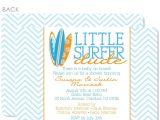 Surfer Baby Shower Invitations Swanky Press
