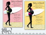 Surfer Girl Baby Shower Invitations Pregnant Surfer Girl Baby Shower Invitation with by
