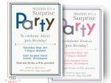 Surprise 30th Birthday Invitations Surprise Birthday Invitations for Men or Women Printable