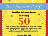 Surprise 50th Birthday Invites 50th Birthday Surprise Party Invitations Free Invitation