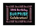 Surprise 50th Birthday Party Invites 50th Birthday Surprise Party Invitations