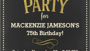 Surprise 75th Birthday Party Invitations the Best 75th Birthday Invitations and Party Invitation