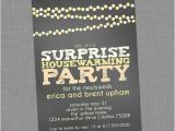 Surprise Bachelorette Party Invitations Items Similar to Chalkboard String Lights Surprise Party