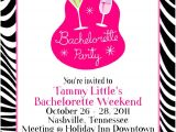 Surprise Bachelorette Party Invitations Party Invitations Easy Bachelorette Party Invitation
