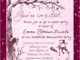 Surprise Bachelorette Party Invitations Winter Pink Bachelorette Party Invitation Beautiful