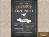 Surprise Birthday Brunch Invitations Chalkboard Bridal Brunch Invitation Birthday Party