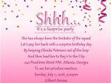 Surprise Birthday Party Invitation Wording Surprise Birthday Party Invitation Wording Wordings and