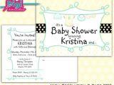Surprise Gender Baby Shower Invitations Gender Surprise Baby Shower Invitation Postcard Clothes Line