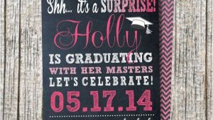 Surprise Graduation Party Invitations Surprise Party Invitation Graduation Party by Eltonslogo