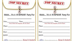 Surprise Party Invitation Template Download Free Printable Surprise Birthday Party Invitations