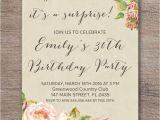 Surprise Party Invitations Ideas Diy Surprise Party Invitations Invitation Librarry