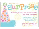 Surprise Party Invitations Ideas Surprise Birthday Invitations Ideas Bagvania Free