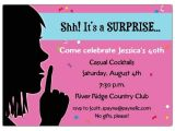 Surprise Party Invite Wording 20 Interesting 30th Birthday Invitations themes Wording