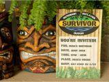 Survivor Party Invitations Kara 39 S Party Ideas Quot Survivor Quot themed Summer Party Kara 39 S