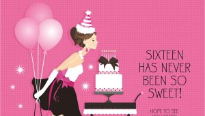 Sweet 16 Party Invitation Templates Free Birthday Party Sweet 16 Birthday Invitations Templates
