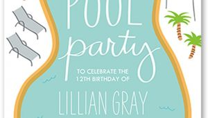 Swim Party Invites 18 Birthday Invitations for Kids Free Sample Templates