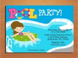 Swimming Party Invitation Template Free Printable Birthday Pool Party Invitations Drevio
