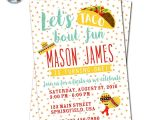 Taco Bout A Party Invitation Fiesta Invitation Taco Party Invitation Fiesta Birthday