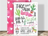 Taco Bout A Party Invitation Taco 39 Bout Fun Fiesta Birthday Party Invitation 5×7
