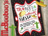 Taco Bout A Party Invitation Taco Bout A Mexican Fiesta Party Invitation with Fun and Funky