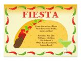 Taco Party Invitation Template Fiesta Party Invitation Zazzle
