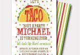 Taco Party Invitation Template Free Taco Birthday Invitation Fiesta Birthday Invitation Fiesta