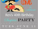 Taco Party Invitation Template Items Similar to Mustache Taco Party Invitation