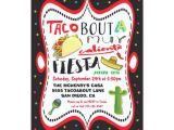 Taco Party Invitation Template Taco Mexican Fiesta Party Invitation Zazzle Com