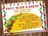 Taco Party Invitation Template Taco Party Invitation Etsy