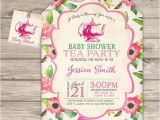 Tea Party Baby Shower Invites 17 Best Ideas About Tea Baby Showers On Pinterest