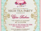 Tea Party Invitation Template High Tea Invitation Template Invitation Templates J9tztmxz
