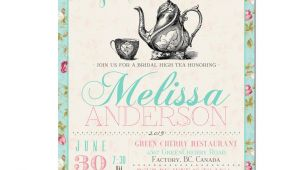 Tea Party Invitation Template Items Similar to Tea Party Invitation Typography High