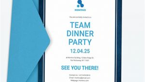 Team Party Invitation Template Team Dinner Invitation Template Word Psd Indesign