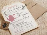 Teapot Bridal Shower Invitations Bridal Shower Tea Party Invitations Bridal Shower Tea