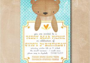Teddy Bear Baby Shower Invitations Free Design Teddy Bear Baby Shower Invitations