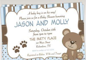 Teddy Bear Baby Shower Invitations Free Teddy Bear Baby Shower Invitations – Gangcraft