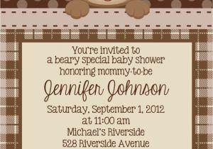 Teddy Bear Baby Shower Invitations Free Teddy Bear Invitation Personalized Custom Teddy Bear