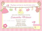 Template for Baby Shower Invitations Birthday Invitations Baby Shower Invitations