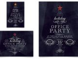 Template for Christmas Party Invitation In Office Office Holiday Party Flyer Ad Template Word Publisher