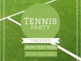 Tennis Birthday Party Invitations 10 Best Images About Tennis On Pinterest Rehearsal